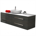 Stone Bench Top Wall Hung Vanities