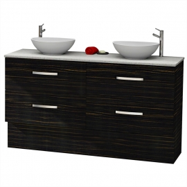 Stone Bench Top Floor Vanities Online - Bathroom Tech